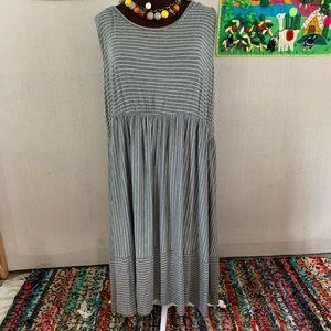 Lane Bryant NWT Sleeveless Striped Dress Size 26